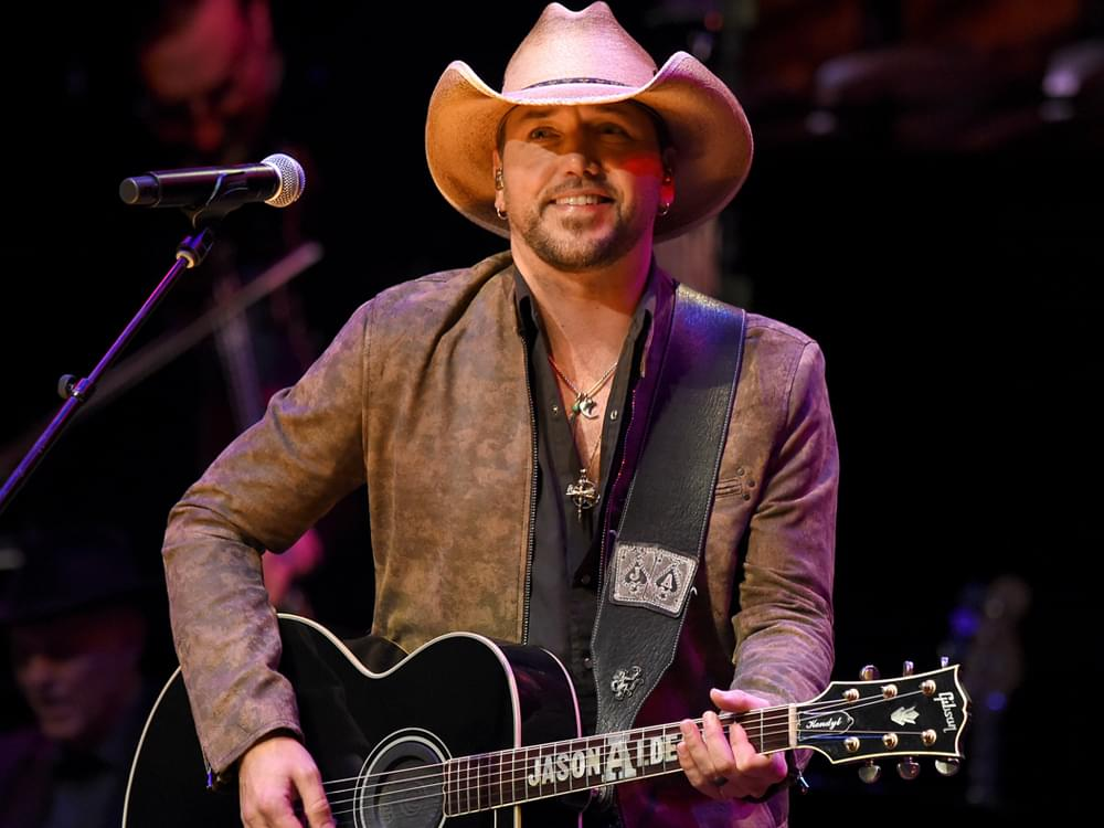 "Jason Aldean's Favorite Thing About Making Music: ""It's Allowed Me to Take Care of My Family"""