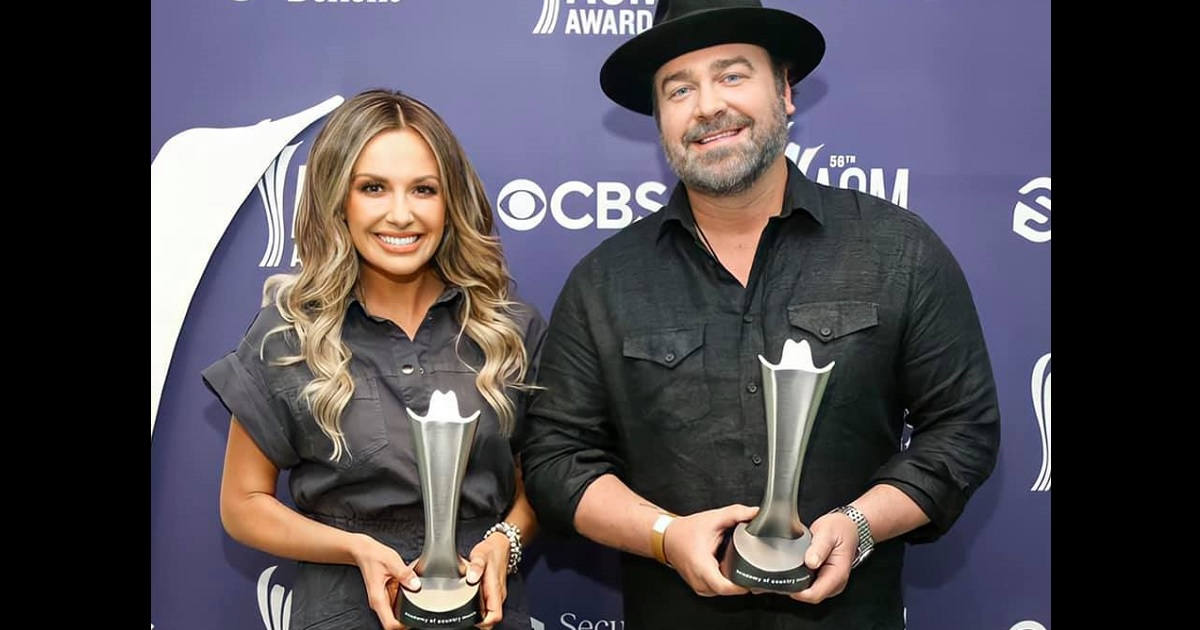 "Carly Pearce & Lee Brice — 56th ACM Awards Single of the Year Winner for ""I Hope You're Happy Now"""