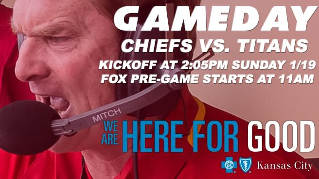 GAME DAY SPONSOR – Blue Cross and Blue Shield of Kansas City