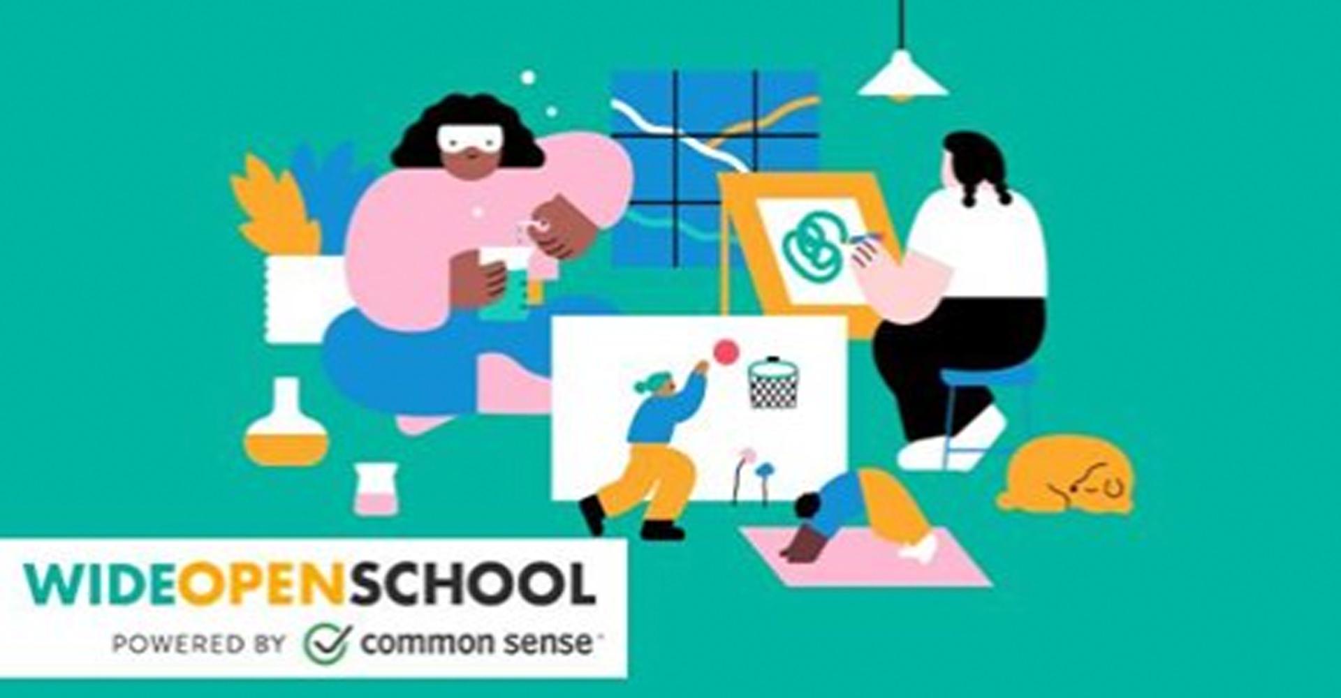 Common Sense Launches Wide Open School