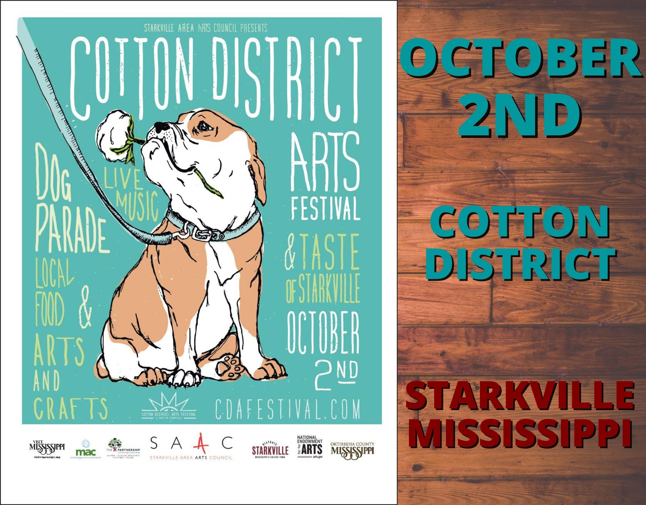 Cotton District Arts Festival-Oct. 2nd