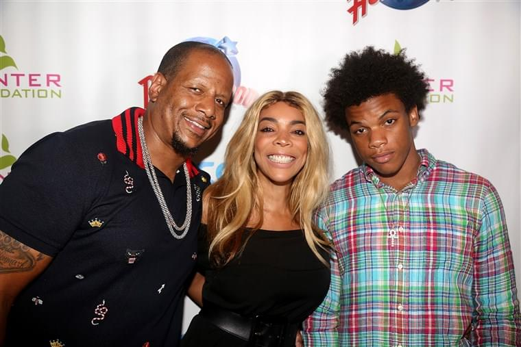 Wendy Williams' son, Kevin Hunter Jr., arrested after allegedly punching his father