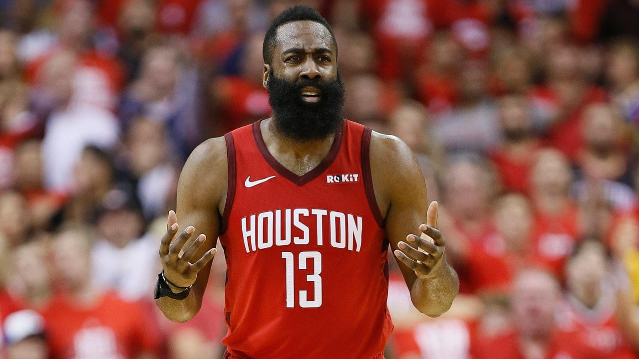 Houston Rockets star James Harden gives family $10,000 when he sees them fishing for food