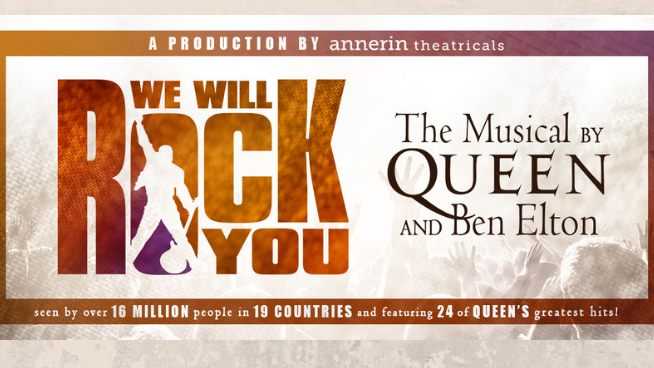 November 21 – We Will Rock You:  The Queen Musical