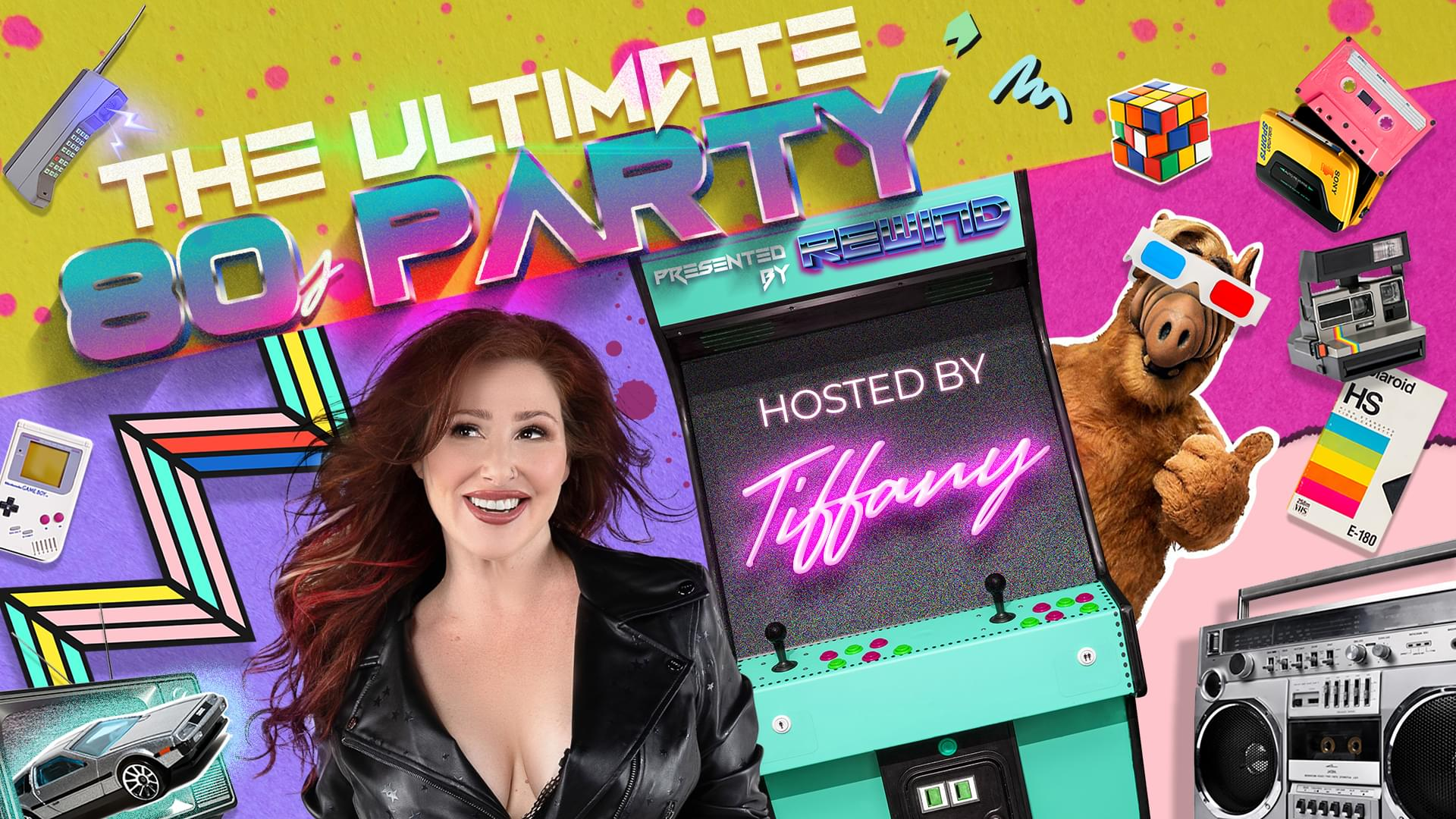 February 1 – 107.9 The Mix presents Ultimate 80s Party featuring Tiffany!