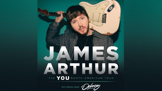 April 4 – James Arthur