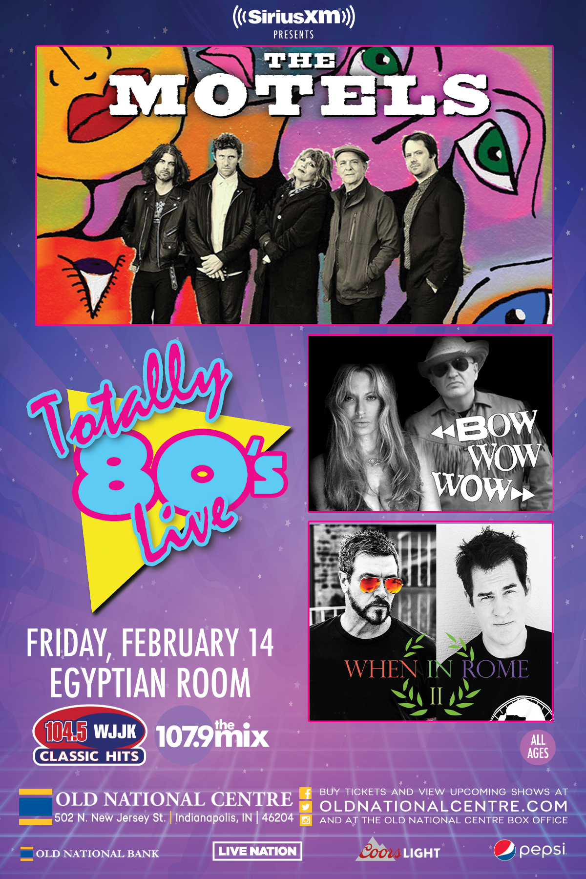 February 14 – Totally 80's Live with The Motels