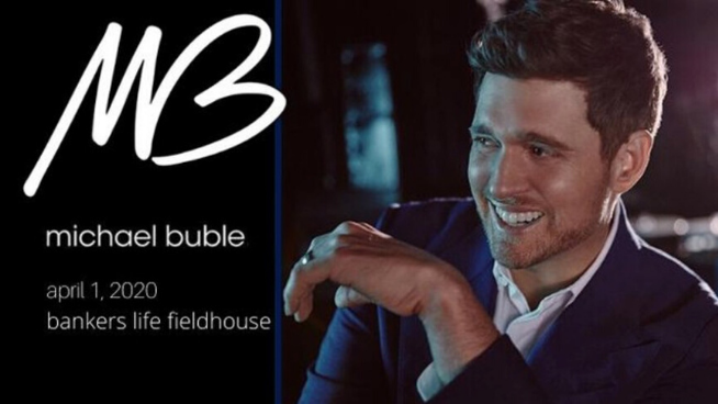 April 1 – Michael Bublé