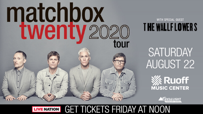 August 22 – Matchbox Twenty