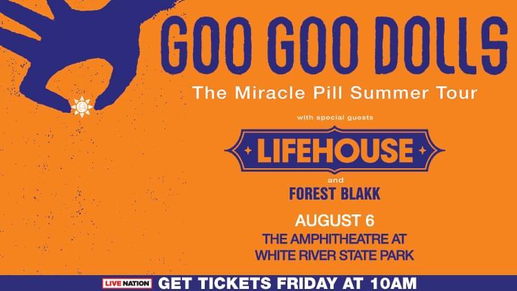 August 6 – Goo Goo Dolls [POSTPONED]