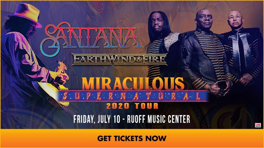 July 10 – Santana [POSTPONED]