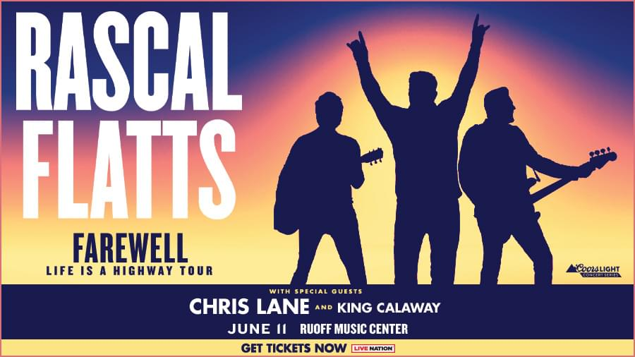 June 11 – Rascal Flatts