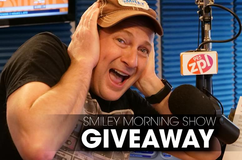 Smiley's Morning Giveaway!