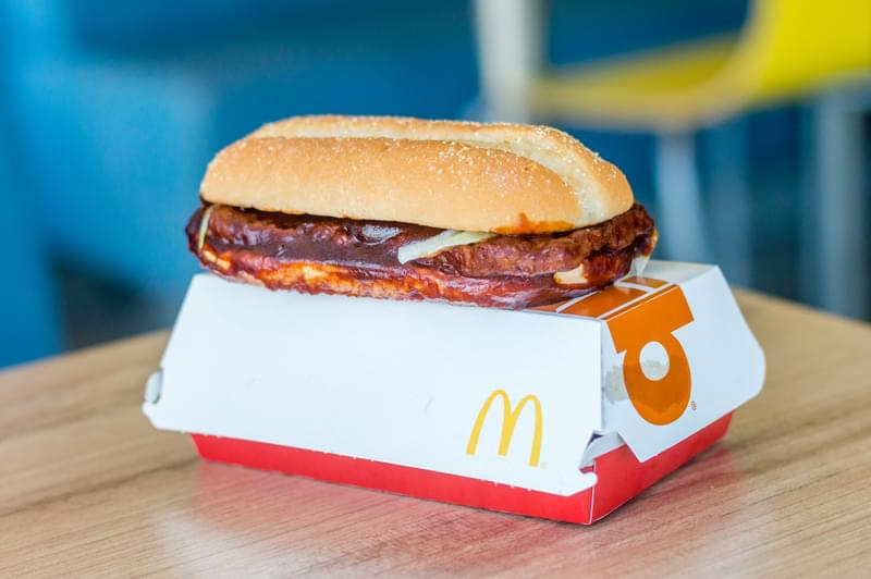 Tis The Season—The McRib Is Back!