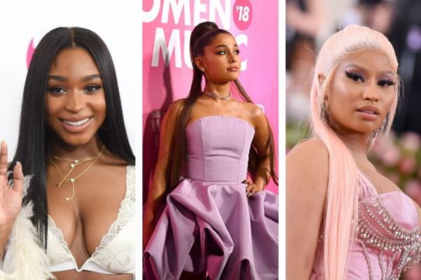 Normani, Ariana Grande, Nicki Minaj