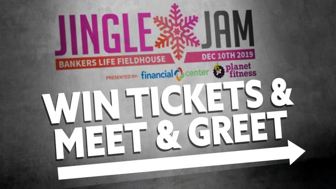 Win Jingle Jam Tickets AND Meet & Greets!