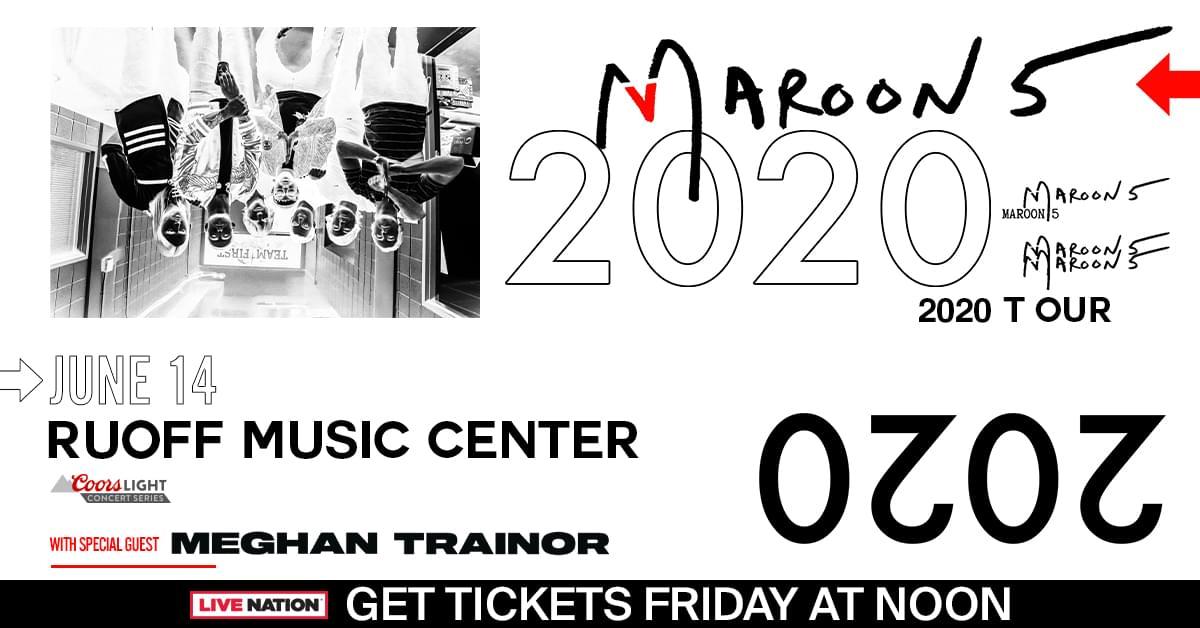 Maroon 5 & Meghan Trainor Winning Weekend!