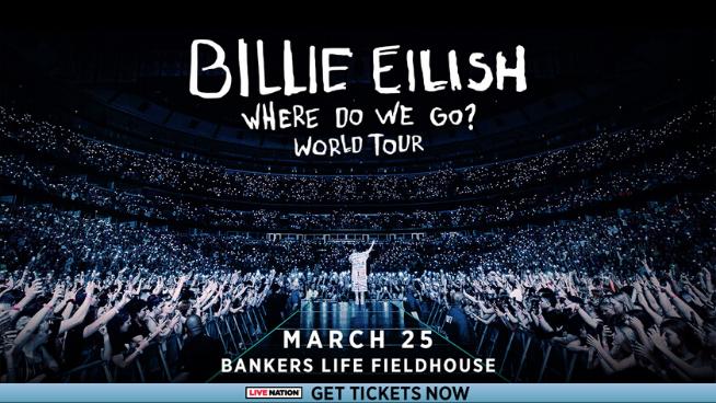 March 25 – Billie Eilish