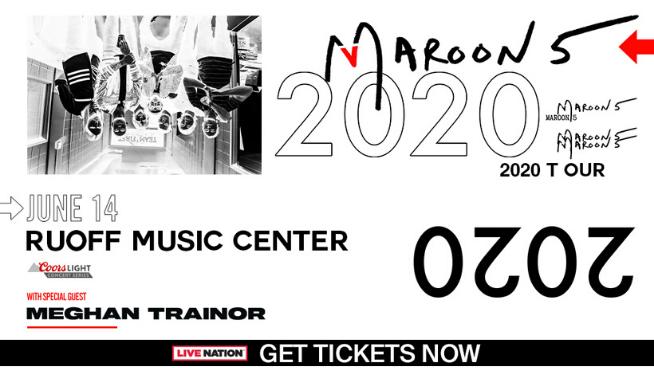 June 14 – Maroon 5 & Meghan Trainor