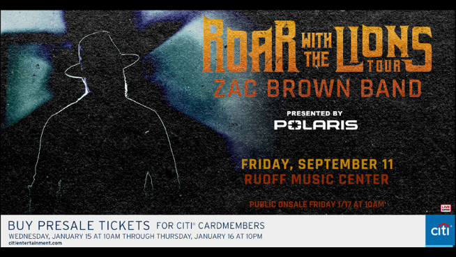September 11 – Zac Brown Band