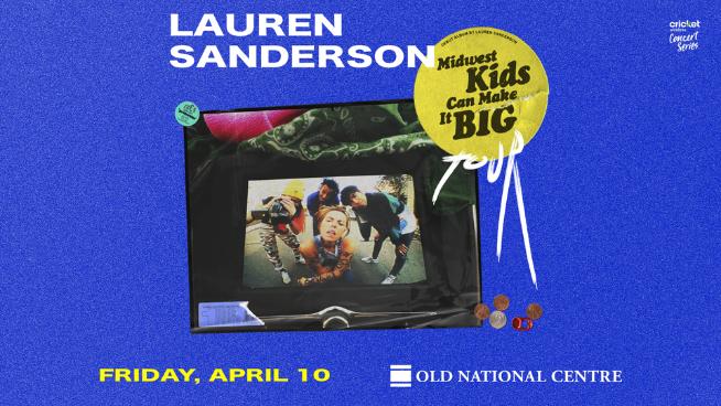 April 10 – Lauren Sanderson *POSTPONED
