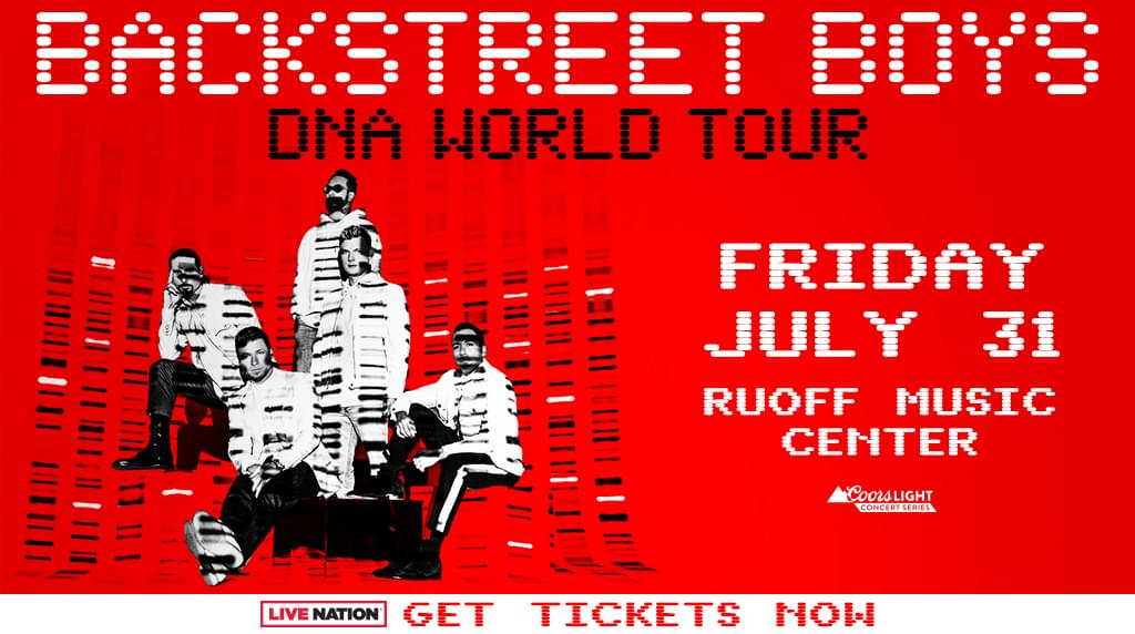 July 31 – Backstreet Boys