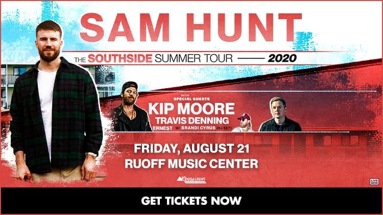 August 21 – Sam Hunt [CANCELED]