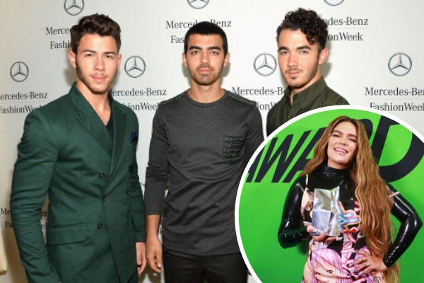 jonas brothers and karol g