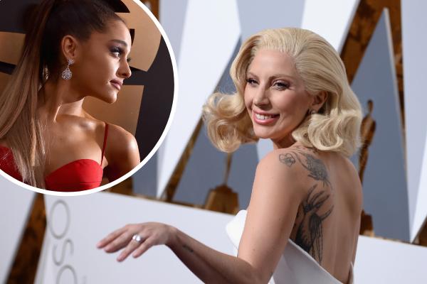 Ariana Grande and Lady Gaga