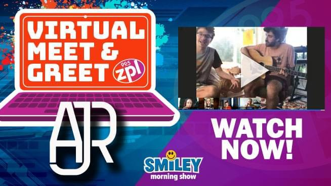 zpl Virtual Meet & Greet – AJR – 6/22/2020