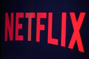 netflix logo on screen