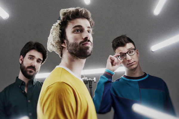 AJR KILLED it on the latest podcast episode of Two Faces For Radio