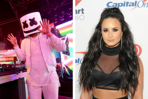 Marshmello and Demi Lovato