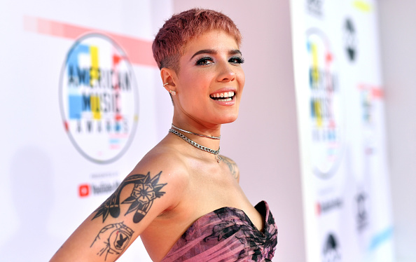 Halsey's Boob Guest Stars on the Cover of Her New Album