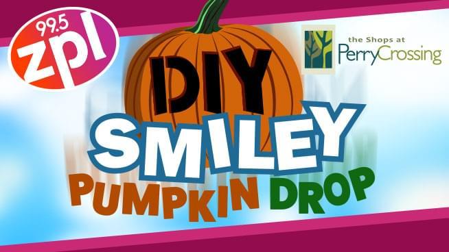 DIY Smiley Pumpkin Drop
