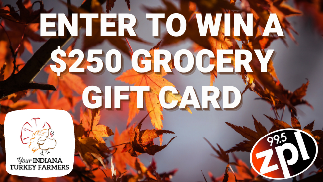 Enter to Win a $250 Grocery Gift Card Courtesy of Your Indiana Turkey Farmers