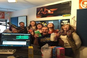 girl scout cookies and the sms in old studio