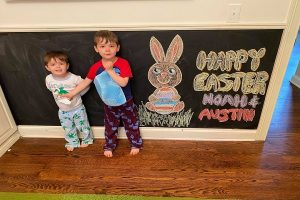happy easter from austin and noah