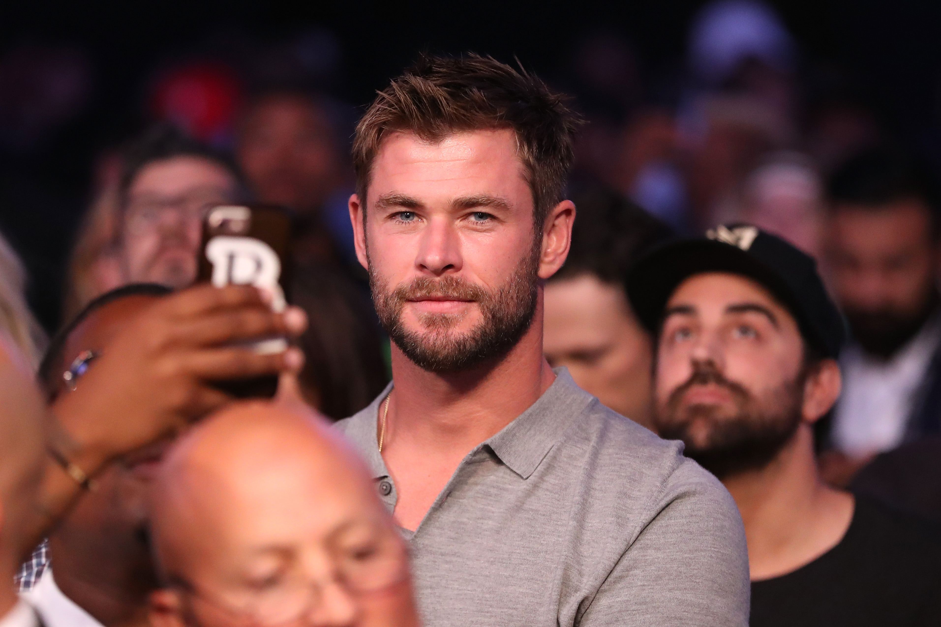 Chris Hemsworth Gets Real About His Muscles
