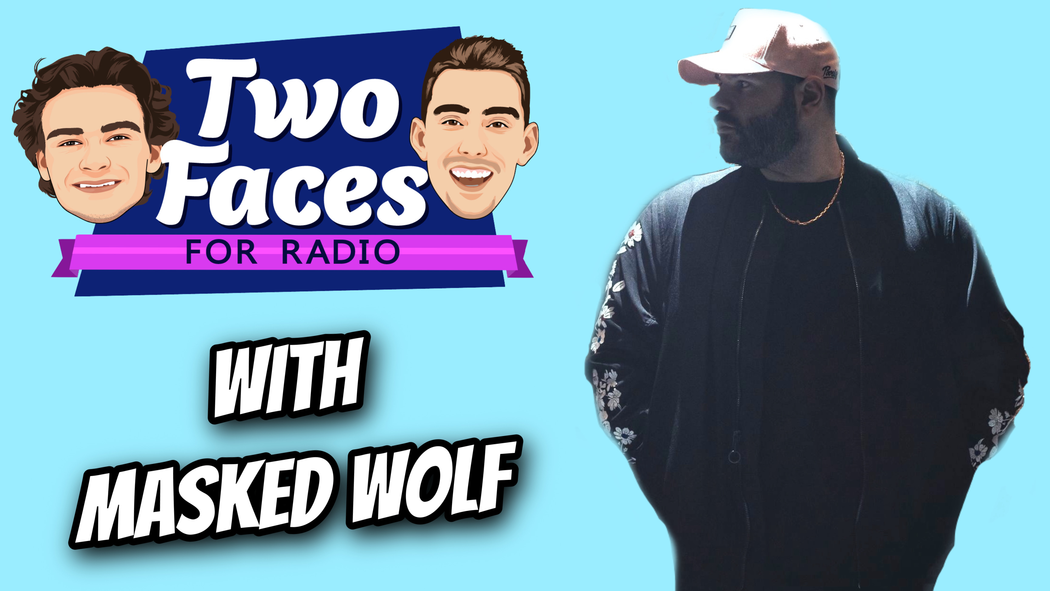 Masked Wolf Joins Two Faces For Radio [WATCH]