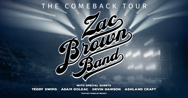 August 27 – Zac Brown Band