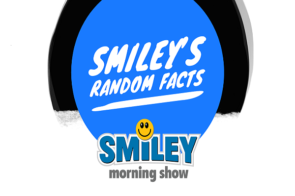Five Random Facts From The Smiley Morning Show