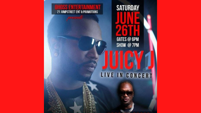 Enter To Win Juicy J Tickets