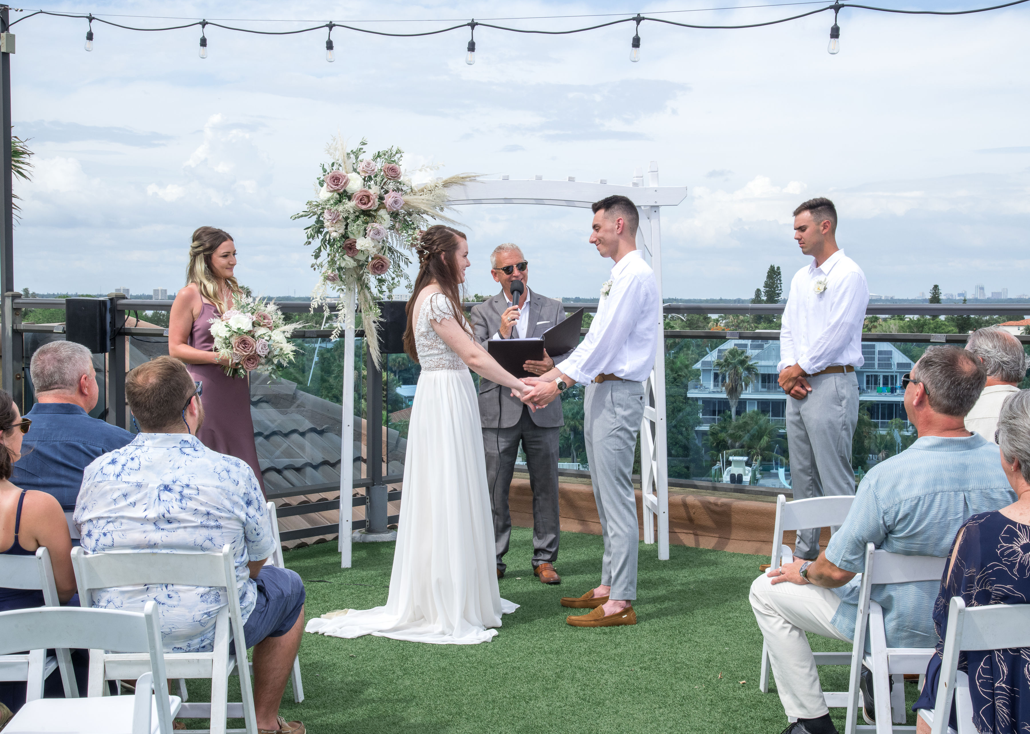 Tommy & His Wife Got Married!! [PHOTOS]