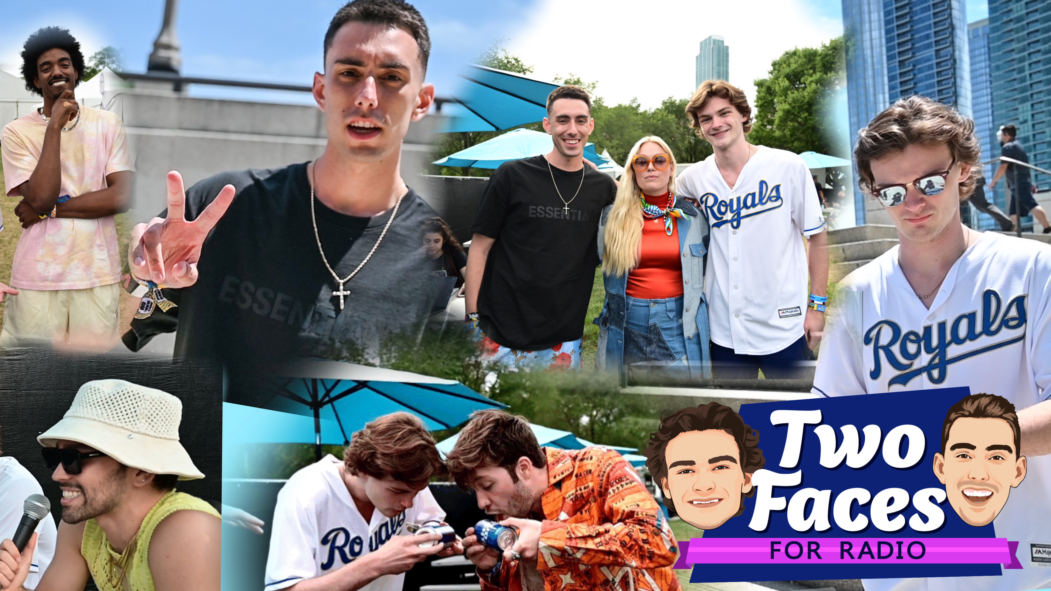 Lollapalooza Day 2 With Max, Ashe, Jessia, And Christian French [WATCH]