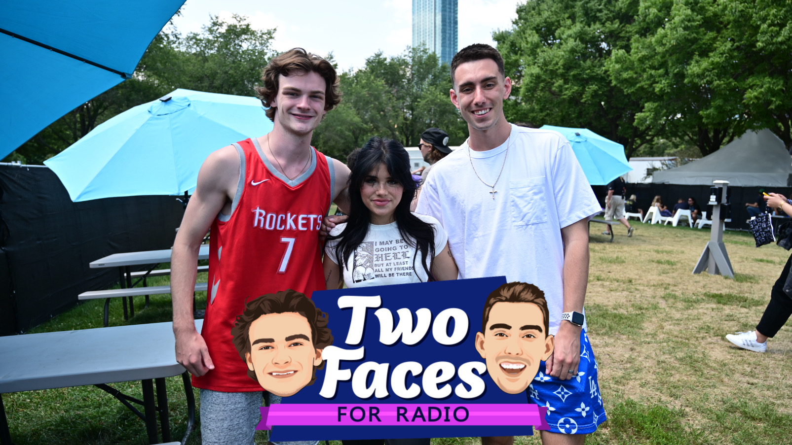 Tommy and Jackson Talk With Nessa Barrett At Lollapalooza [WATCH]