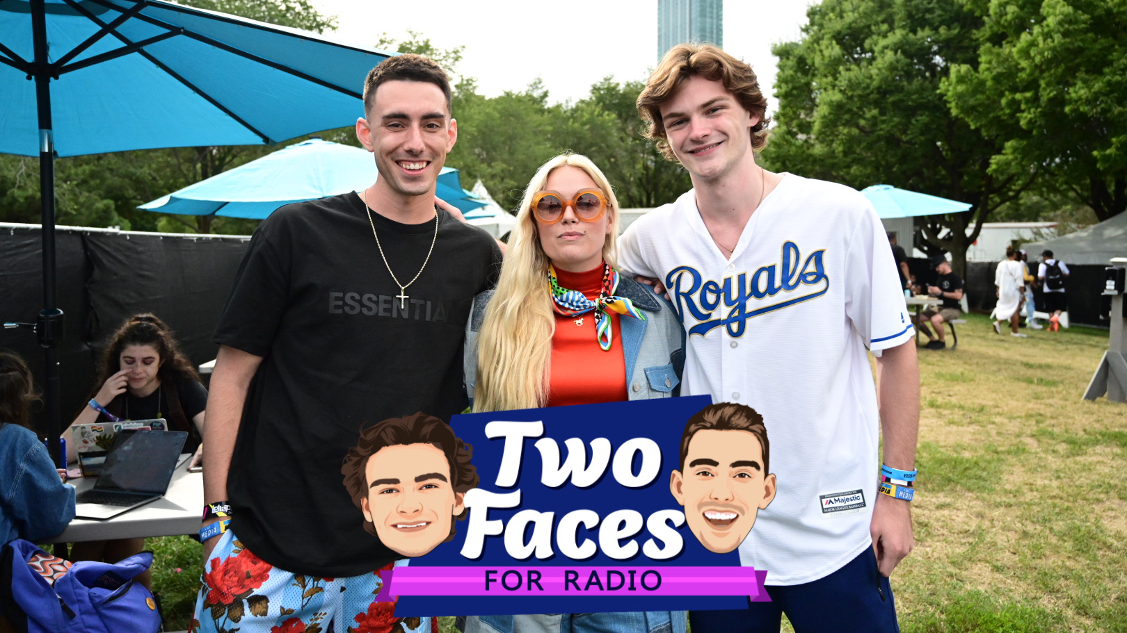 Tommy And Jackson Catch Up With Ashe At Lolla [WATCH]