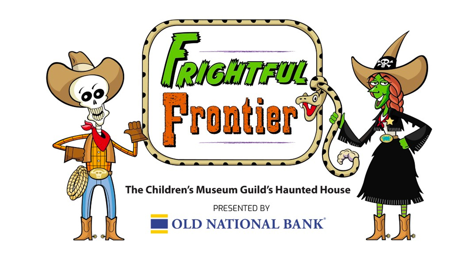 October 9th-31st — The Children's Museum Guild's Haunted House — Frightful Frontier