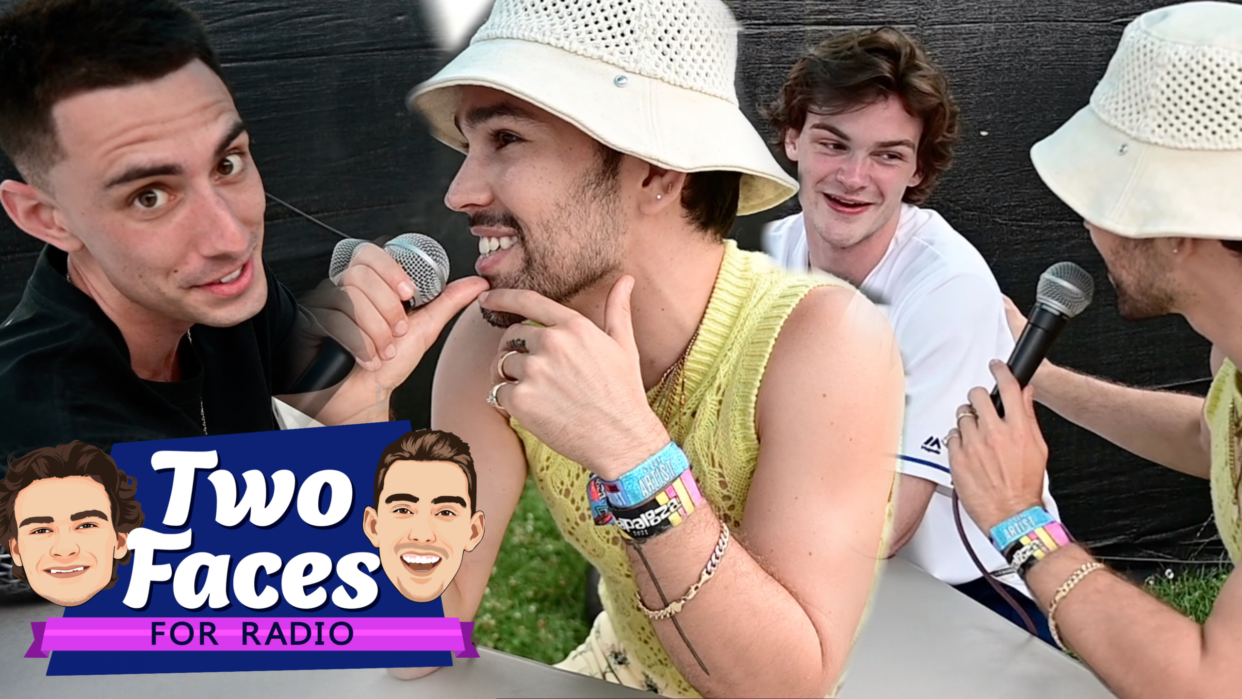 Tommy and Jackson Catch Up With MAX At Lolla [WATCH]