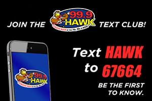 Join The Hawk Text Club!